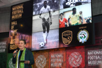 Justin Fashanu was inducted into the National Football Museum Hall of Fame