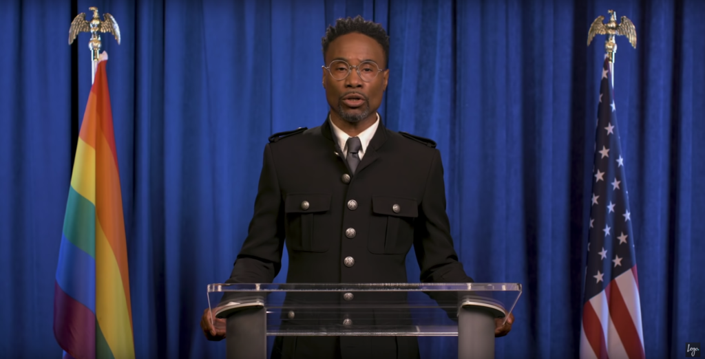 Billy Porter attacks Donald Trump in iconic 'LGBTQ State of the Union'
