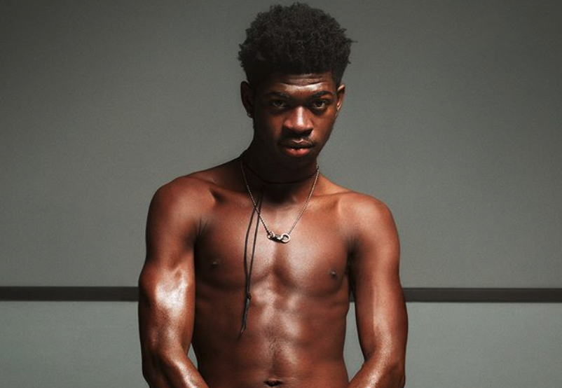We are not worthy of receiving these blessed images of Lil Nas X in his first Calvin Klein campaign. (Instagram/Calvin Klein)