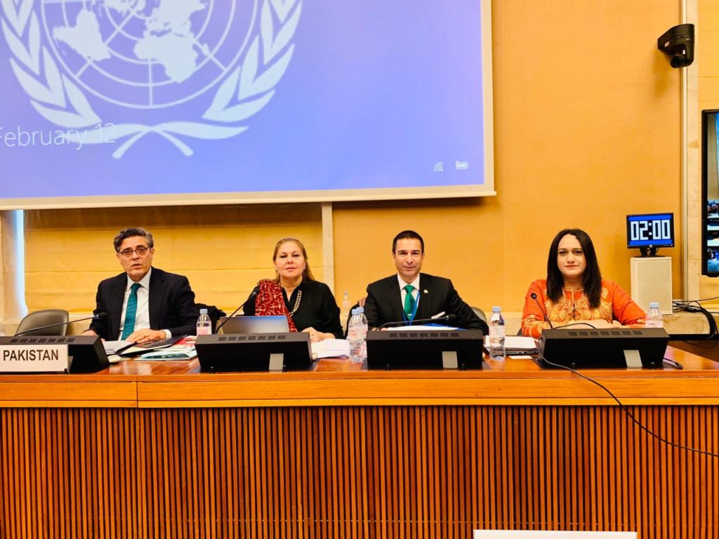 Trans woman makes history representing Pakistan at United Nations