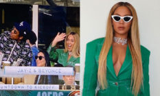 Beyonce refused to stand for the national anthem at the Super Bowl