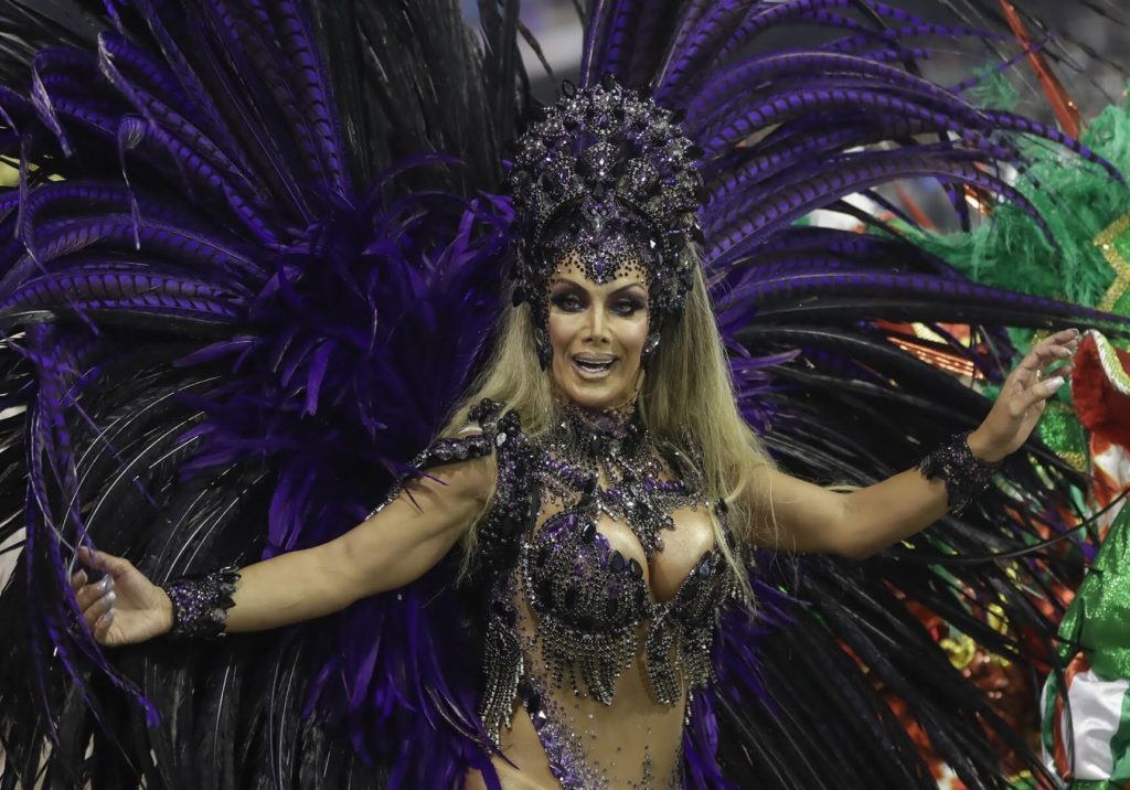 Brazilian dancer is first trans 'godmother of the drummers' at Carnival