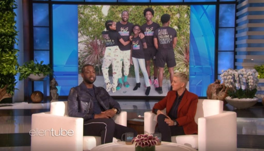 Dwyane Wade discusses moment his child came out as trans