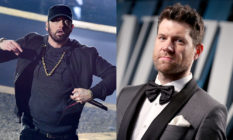 Eminem and Billy Eichner at the Oscars