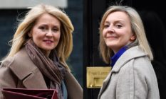 Esther McVey and Liz Truss