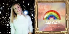 Liza Vassilieva will perform her track 'I Am Gay'