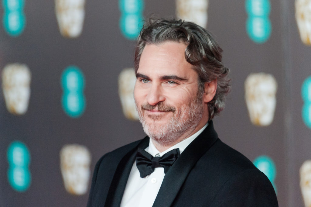 Joaquin Phoenix at the Baftas
