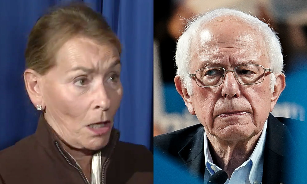Judge Judy vows to fight Bernie Sanders 'to the death' because America is 'perfect'