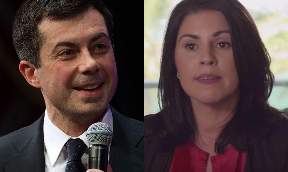 Former senior Republican joins the Democrats just so she can vote for Pete Buttigieg