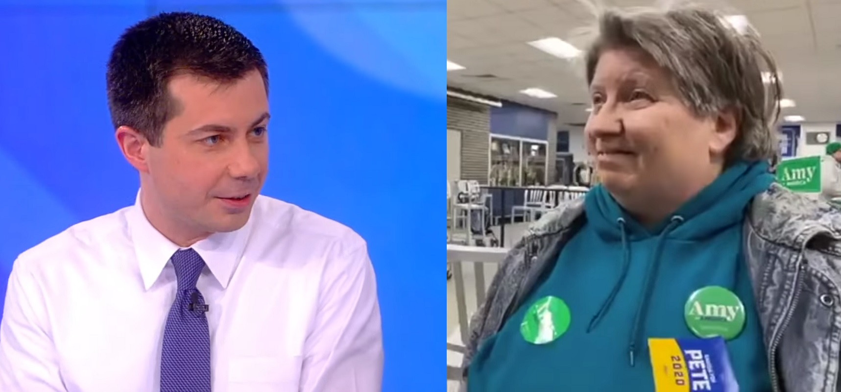 Pete Buttigieg responded on The View after an Iowa voter tried to take back her vote for him