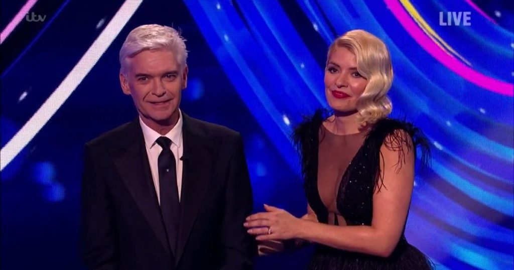 Phillip Schofield Dancing on Ice gay