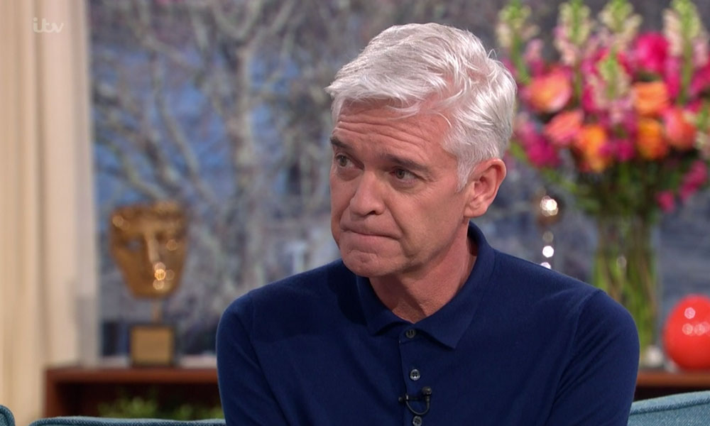 Legendary TV presenter Phillip Schofield just came out as gay. (ITV)