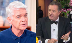 Phillip Schofield and Piers Morgan