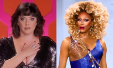 Rachel Bloom and RuPaul in Drag Race