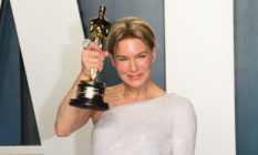 Renee Zellweger and her Oscar