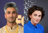 Tan France and Timothée Chalamet.