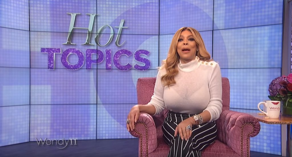 Wendy Williams, whose TV show is popular with gay men, decided to take aim at her audience