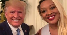 Angela Stanton-King with Donald trump