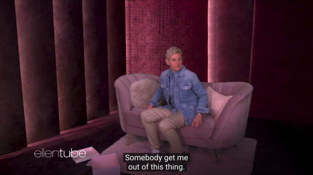 Love is Blind: Ellen DeGeneres pokes fun at heteronormative dating show