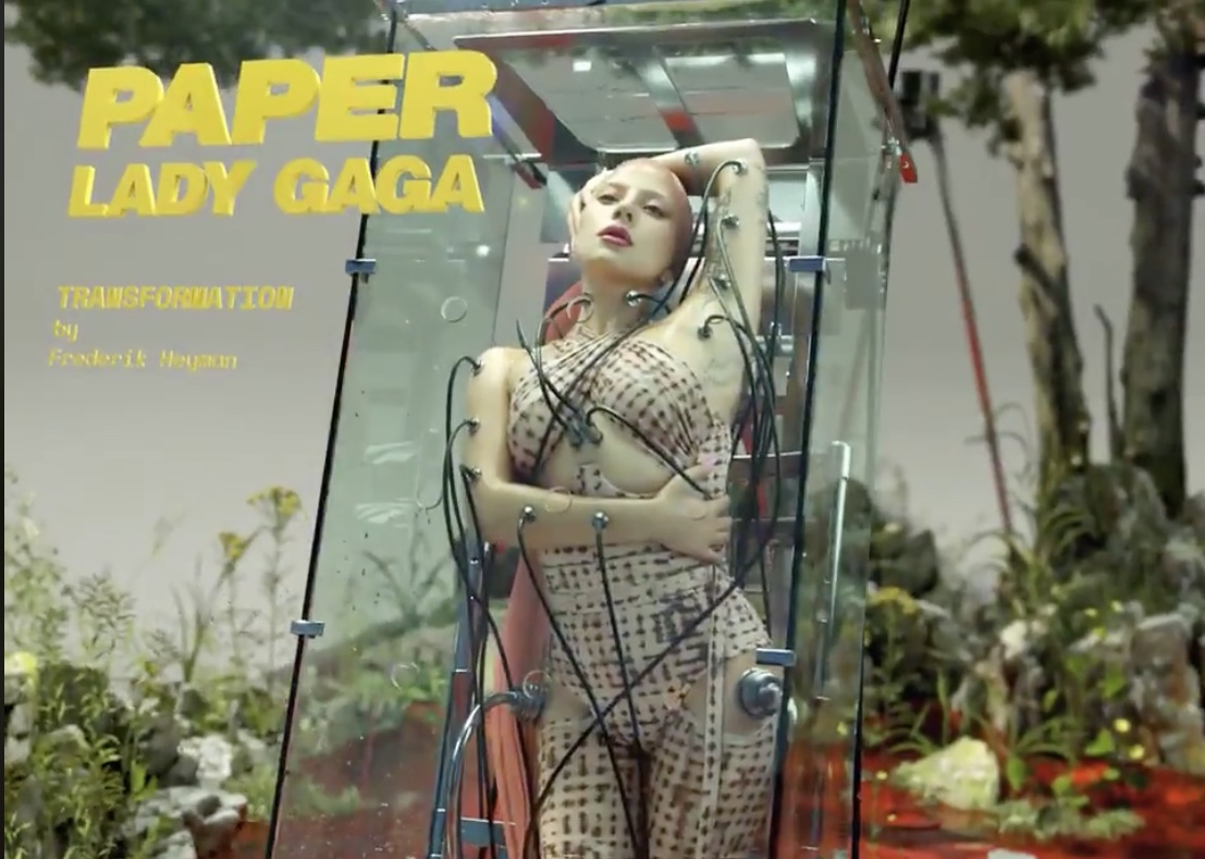 The Lady Gaga Paper Magazine Cover Shoot Has Redefined Art