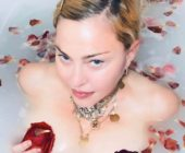 Madonna delivers coronavirus message while naked in a bath full of petals