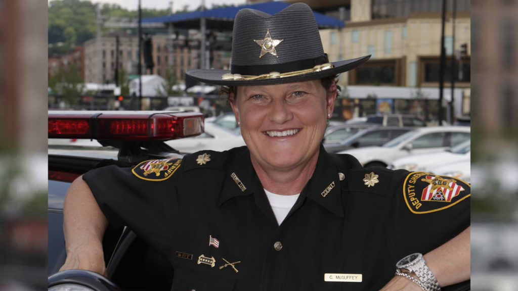 Charmaine McGuffey: Gay sheriff wins primary against boss who fired her