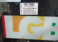 White supremacists protest Drag Queen Story Hour with anti-gay stickers