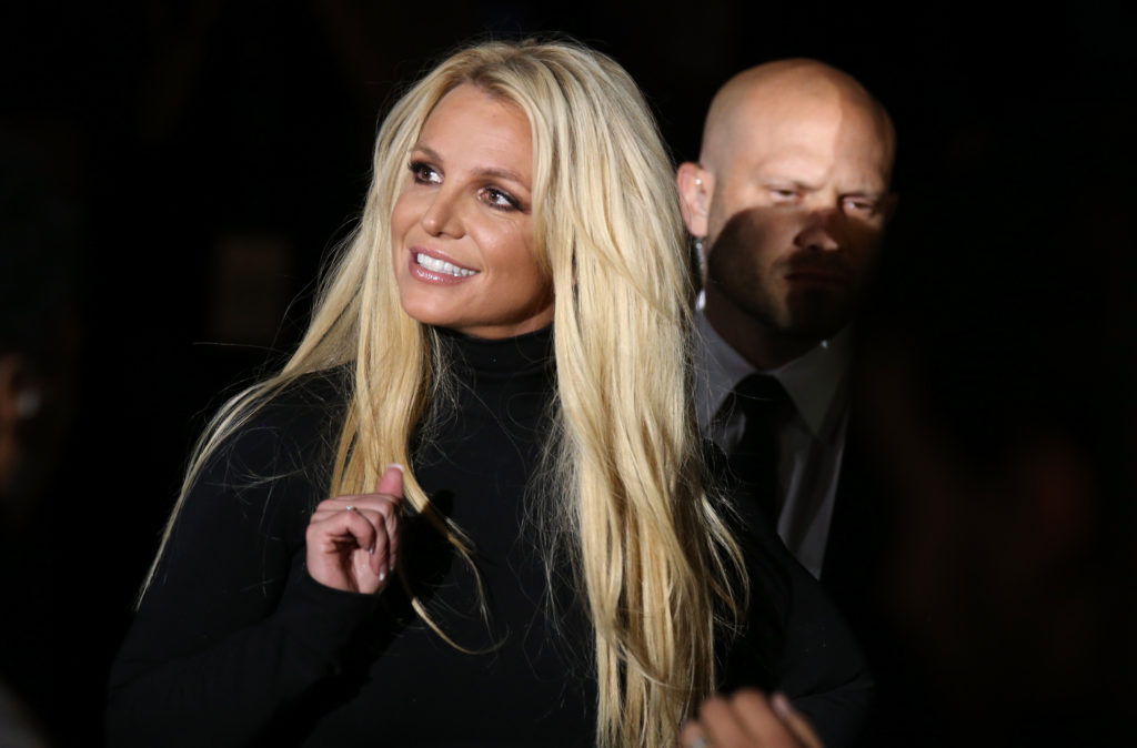 Singer, socialist and sprinter Britney Spears. (Gabe Ginsberg/FilmMagic)