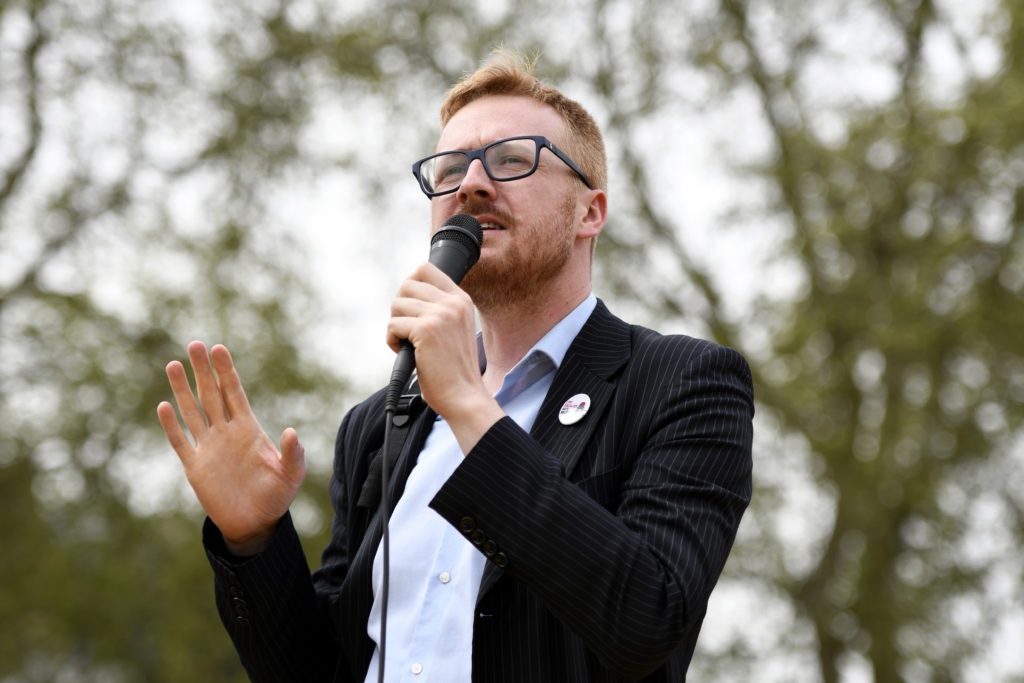 Labour Party lawmaker Lloyd Russell-Moyle won re-election to Parliament in 2019. (Andres Pantoja/SOPA Images/LightRocket via Getty Images)