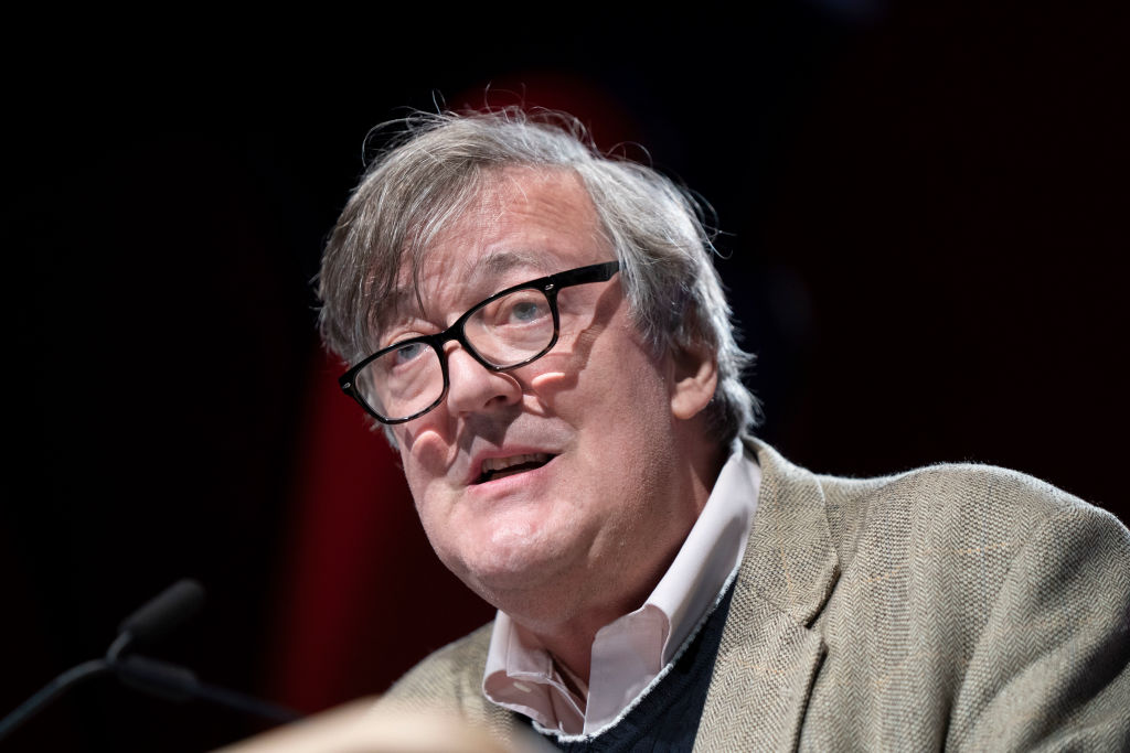 Stephen Fry, comedian, actor and writer