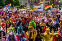 Thousands of members of the LGBTQ community gathered today for the Birmingham Pride parade in May 2019