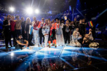 Eurovision finalists during the 64th annual Eurovision Song Contest held at Tel Aviv Fairgrounds on May 14, 2019 in Tel Aviv, Israel.