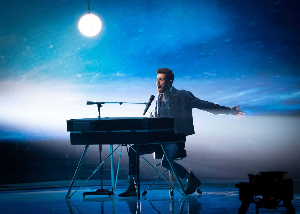 Duncan Laurence, representing The Netherlands, wins the Grand Final of the 64th annual Eurovision Song Contest held at Tel Aviv Fairgrounds on May 18, 2019 in Tel Aviv, Israel.