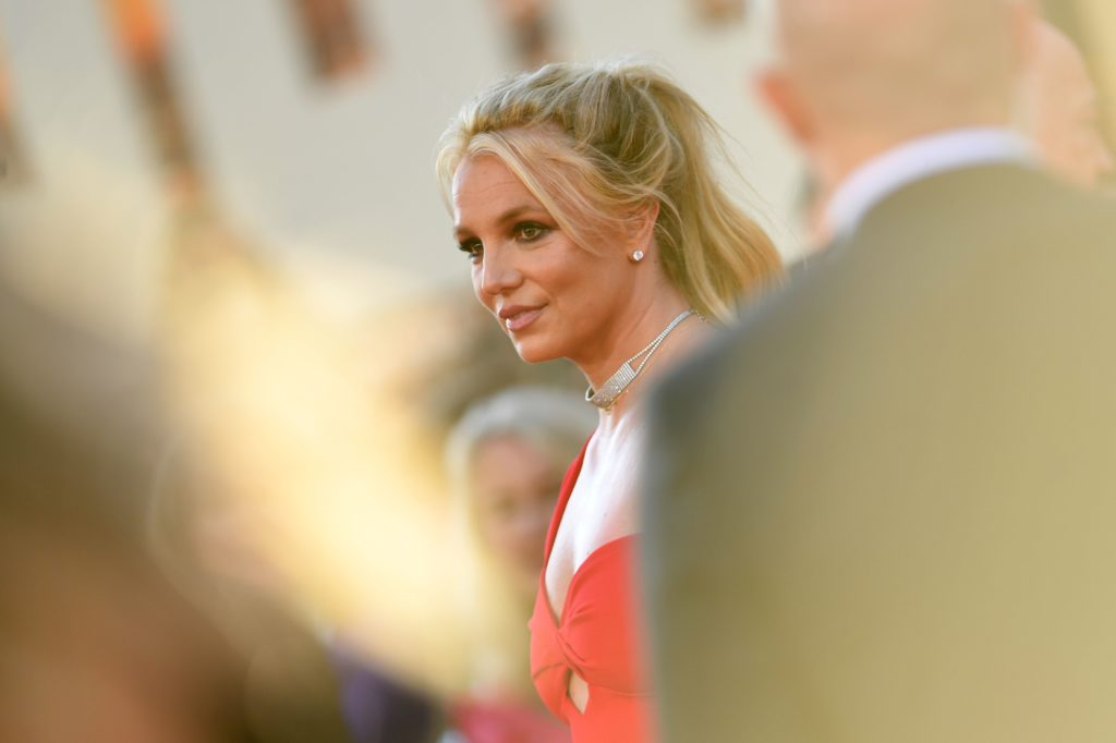 Britney Spears. (VALERIE MACON / AFP) (Photo credit should read VALERIE MACON/AFP via Getty Images)