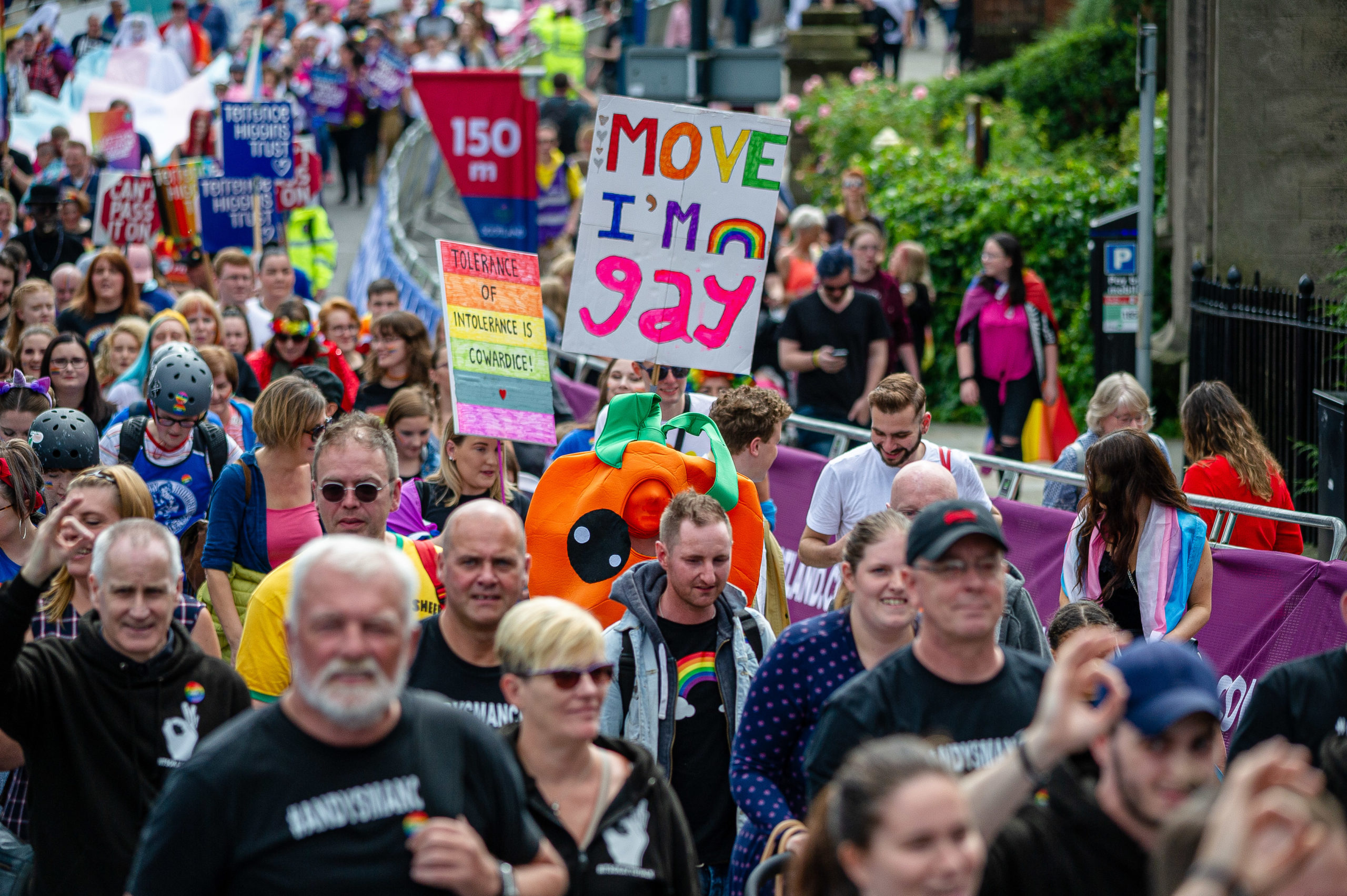 PrideEdinburgh – the stalwart of Scotland's LGBT+ celebrations – has been cancelled due to the coronavirus pandemic. (Stewart Kirby/SOPA Images/LightRocket via Getty Images)
