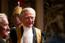Norman Fowler in his Lord Speaker garb