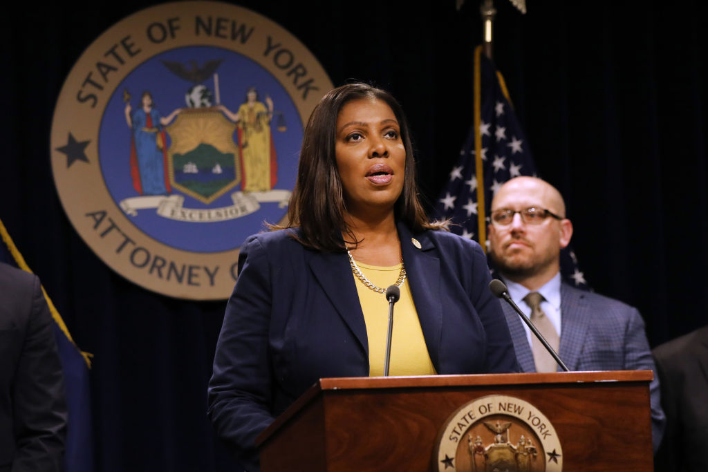 New York Attorney General Letitia will move to protect trans kids