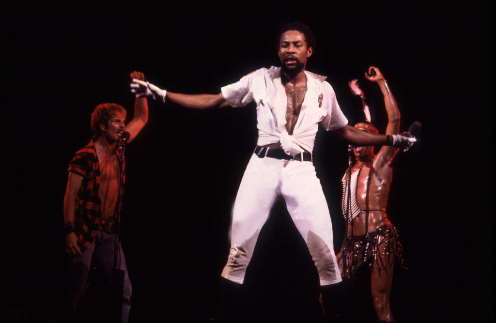 American Disco vocalist Victor Willis. (Paul Natkin/Getty Images)