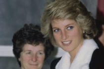 Diana, Princess of Wales, visiting the historic Mildmay Hospital during the peak of the HIV/AIDS crisis ravaging London, England. (Princess Diana Archive/Getty Images)
