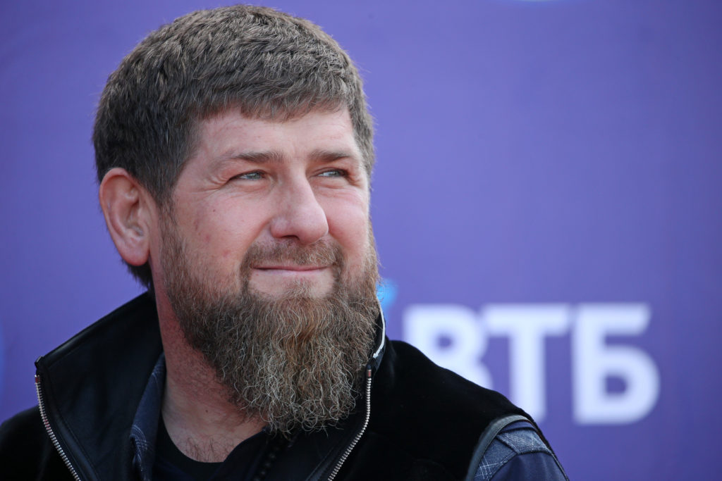 Head of Chechnya Ramzan Kadyrov said those quarantined with the coronavirus that break house arrest should be executed. (Yelena AfoninaTASS via Getty Images)