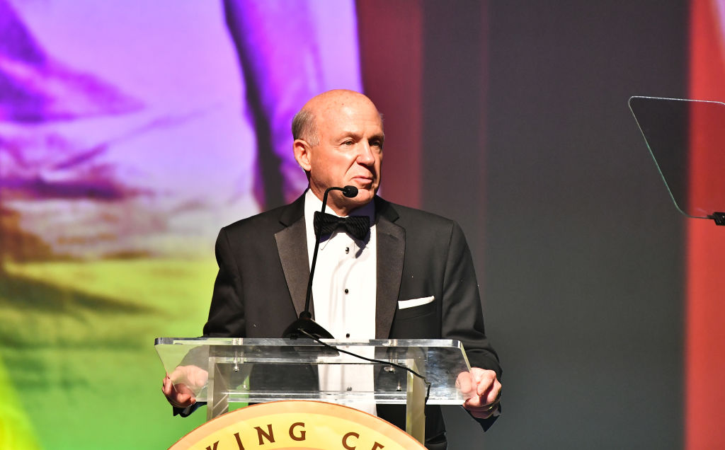 Dan T. Cathy, Chairman, President and CEO, Chick-fil-A speaks onstage during 2020 Salute to Greatness Awards Gala at Hyatt Regency Atlanta on January 18, 2020 in Atlanta, Georgia.
