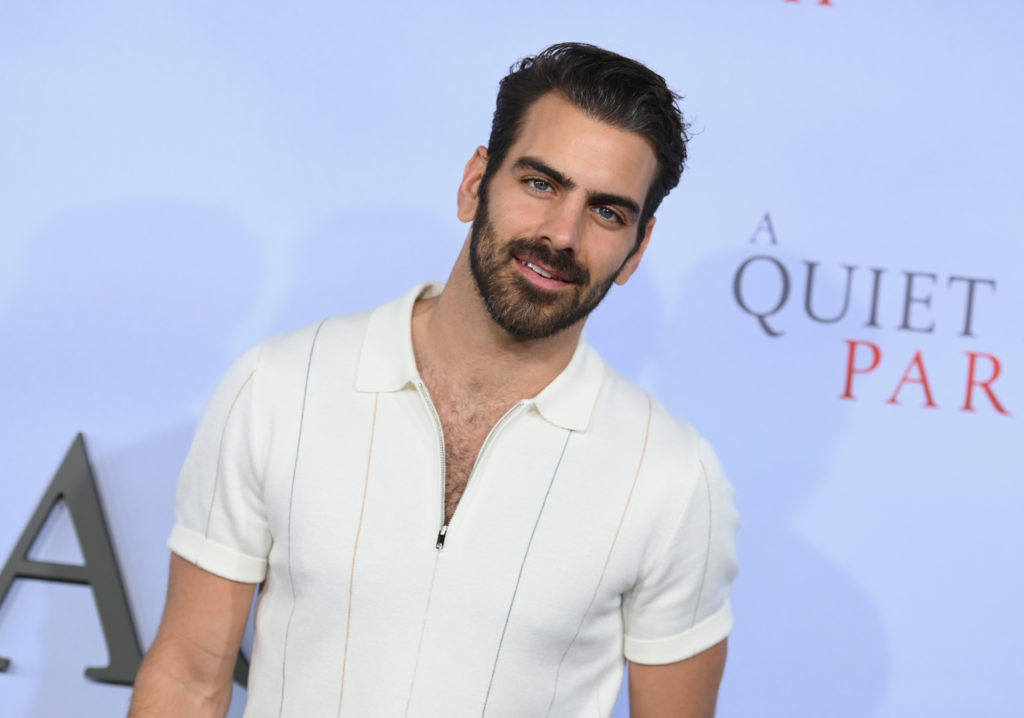 Deaf model Nyle DiMarco. (ANGELA WEISS/AFP via Getty Images)