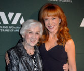 Kathy Griffin (R) announced that her mother, Maggie Griffin, passed away after years of being in the throes of dementia. (Barry King/WireImage)