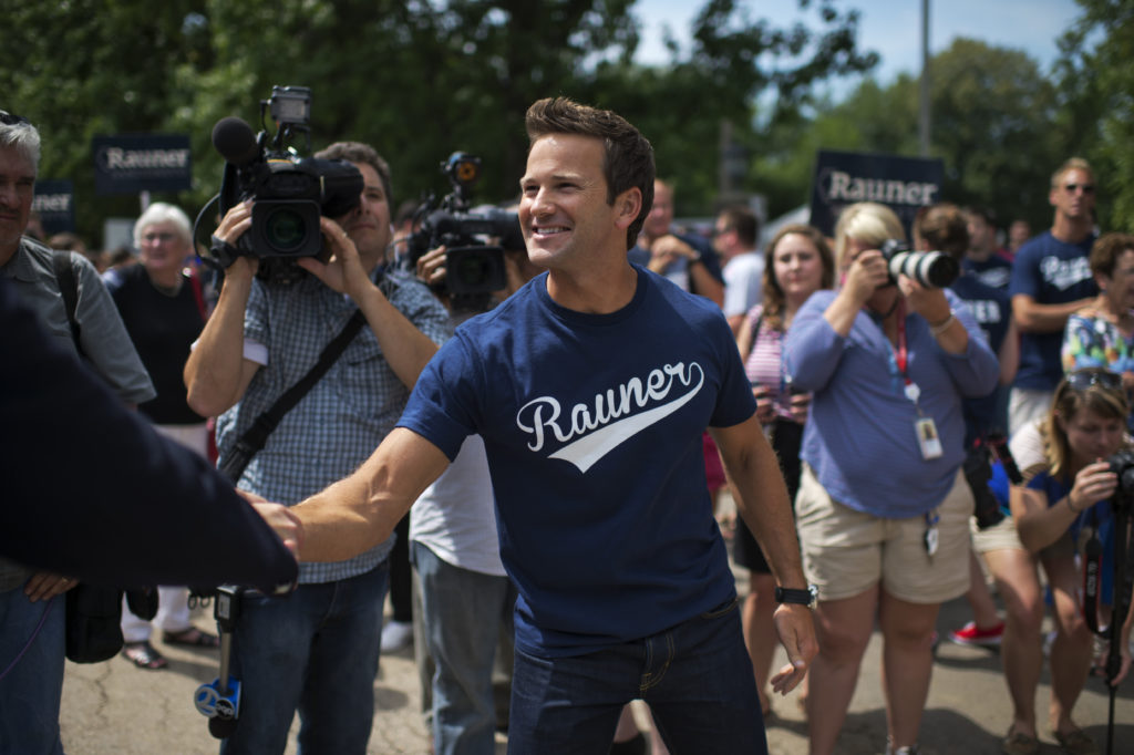 Disgraced politician Aaron Schock, described a religious upbringing in the rural Midwest as hampering his coming out. (Tom Williams/CQ Roll Call)