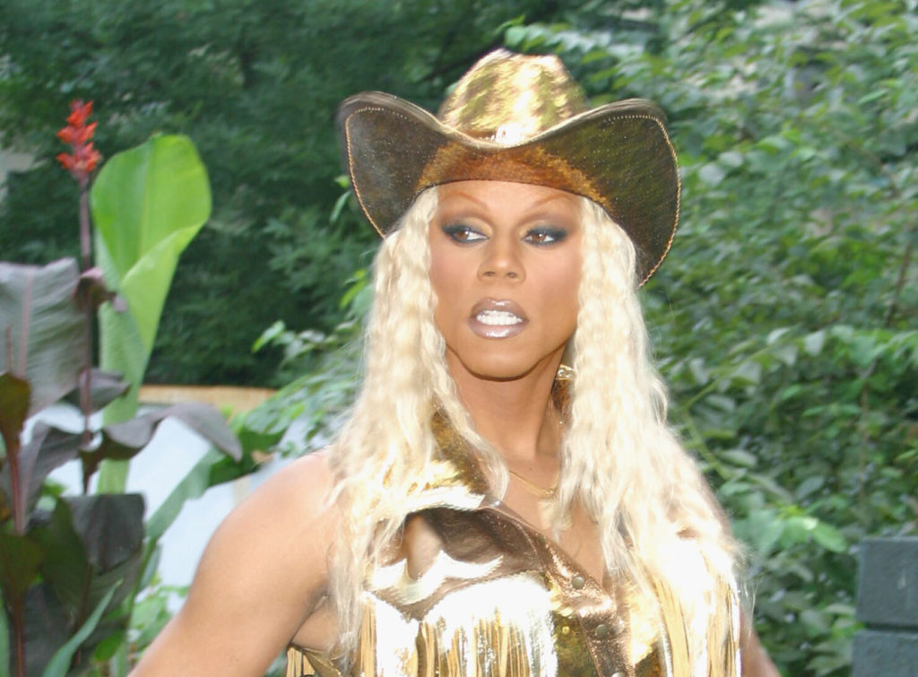 "Yeehaw! RuPaul has fuelled controversy after saying he ""leases mineral rights"" of his 60,000 acre plot. (Teresa Lee/Getty Images)"