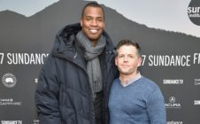 Former NBA player Jason Collins and producer Brunson Green.