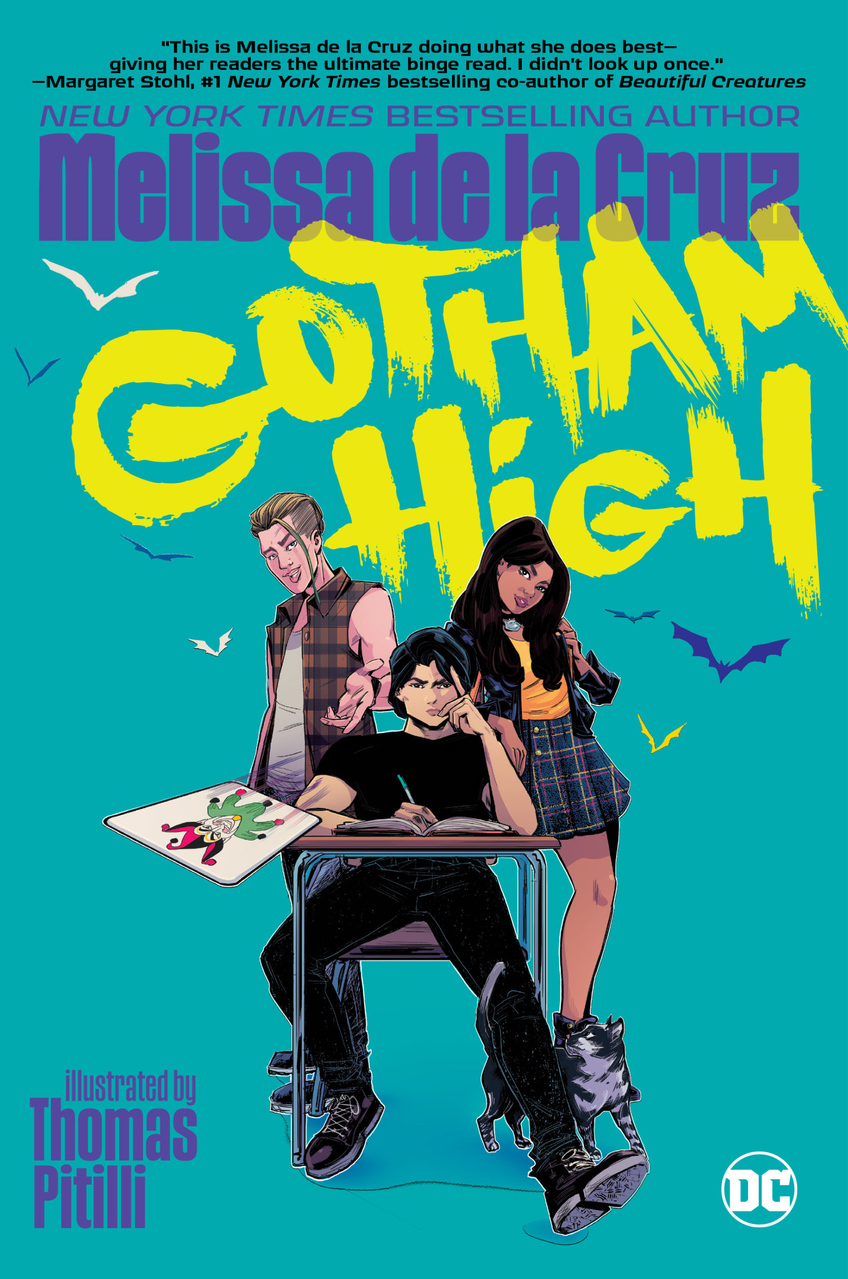 The Batman adaptaiton moves the story to a high school