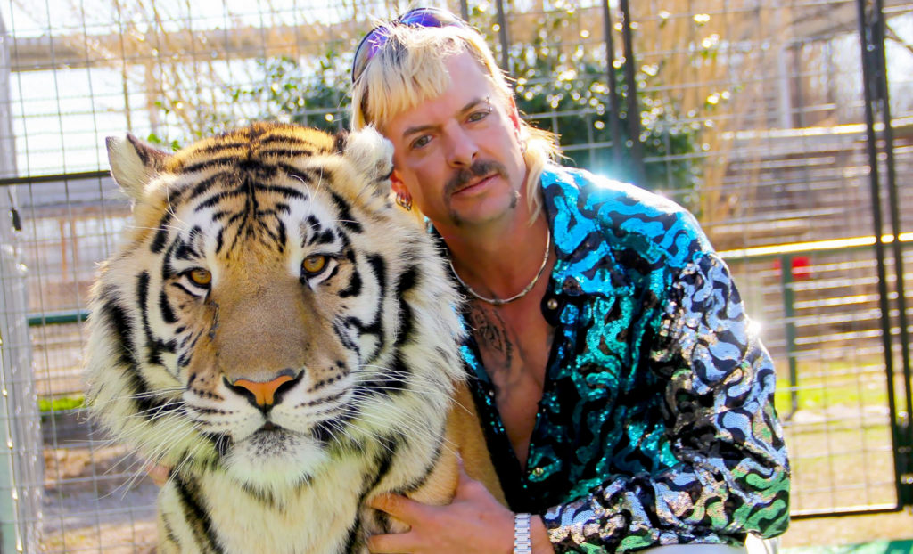 Joe Exotic Tiger King: Netflix crime doc based on 'gun-toting gay redneck'