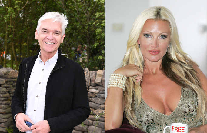 Phillip Schofield Caprice Bourret gay