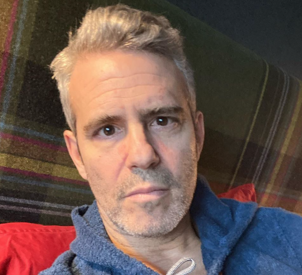Andy Cohen has tested positive for coronavirus. (Instagram)
